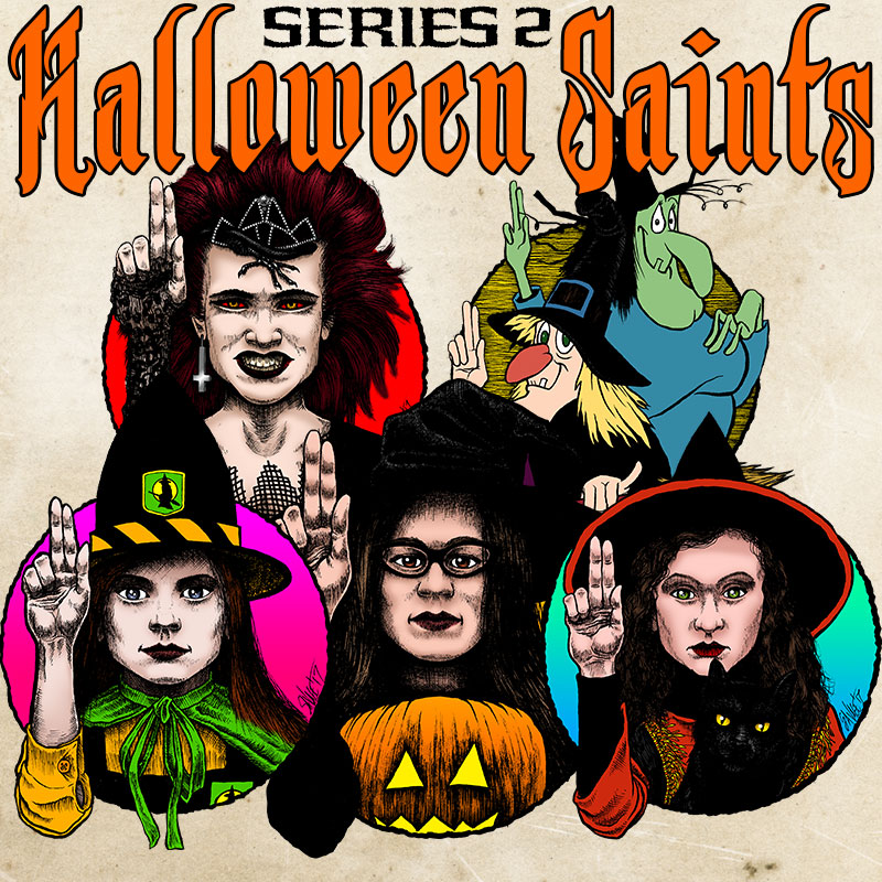 Halloween Saints: Series 2