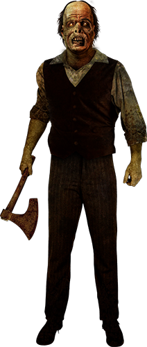 Groundskeeper Willies from Face Your Fears: Hotel of Terror