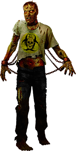 Zombie Containment Signature Character
