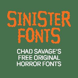 Free Original Horror Fonts