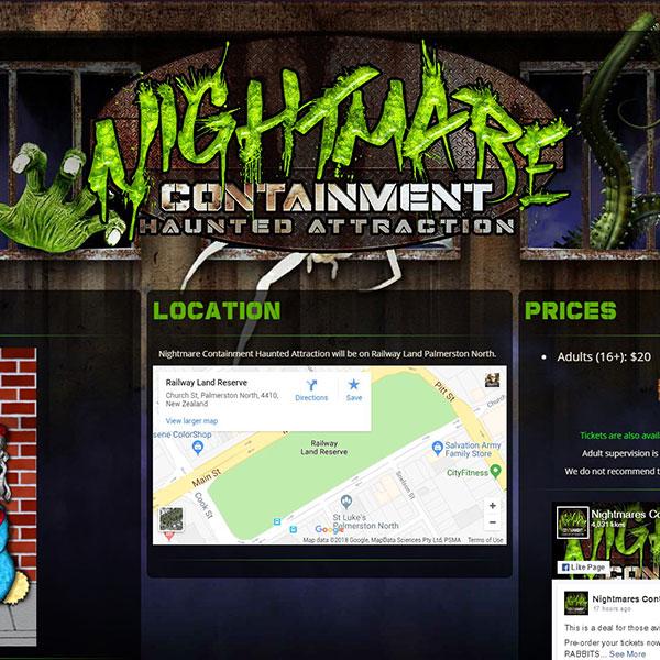 Sinister Visions: Website Design, Logo Design, Graphic